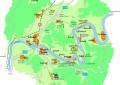Karte der Römischen Weinstraße