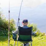 Angler am Ufer