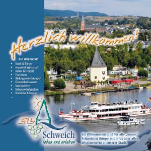 Die neue Broschüre für Schweicher Neubürger