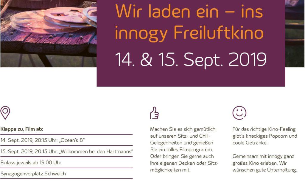 Open-Air-Kino: Ocean's 8 @ Synagogenvorplatz Schweich